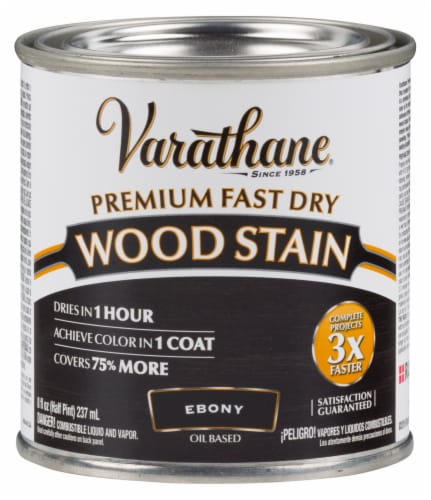 Varathane® Premium Ebony Fast Dry Oil Based Wood Stain Perspective: front