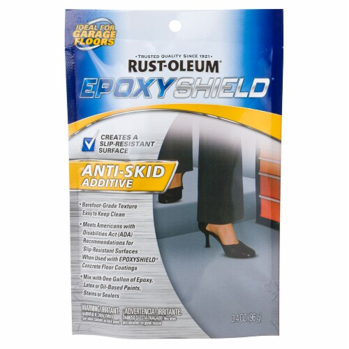 Rust-Oleum® 279847 Anti-Skid Additive 3.4 oz. Pouch Perspective: front