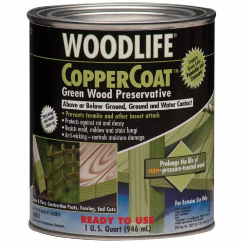 Wolman  Woodlife  Green  Water-Based  Wood Preservative  1 qt. - Case Of: 6 Perspective: front