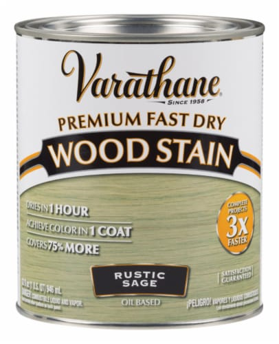 Varathane® Rustic Sage Oil-Based Wood Stain Perspective: front