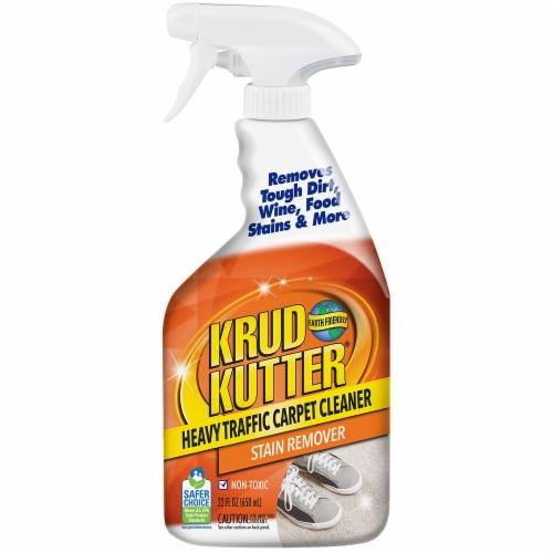 Krud Kutter Heavy Traffic Carpet Cleaner 22 oz Spray Perspective: front