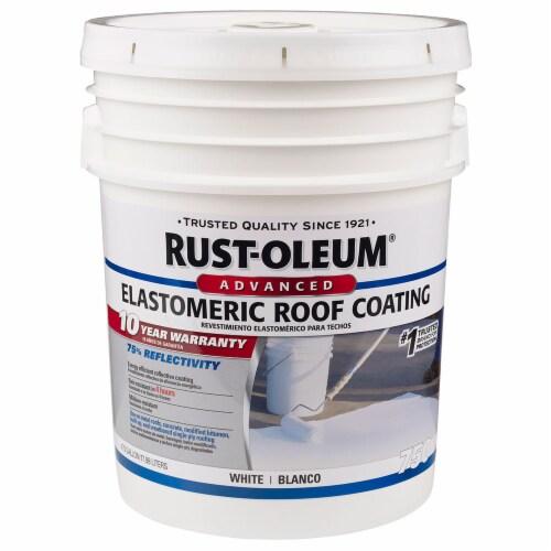 Rust-Oleum 301993 750 Elastomeric Roof Coating 5 gal Perspective: front