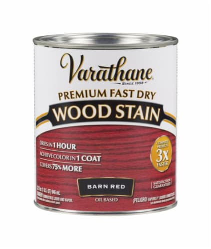 Varathane® Barn Red Oil-Based Wood Stain Perspective: front