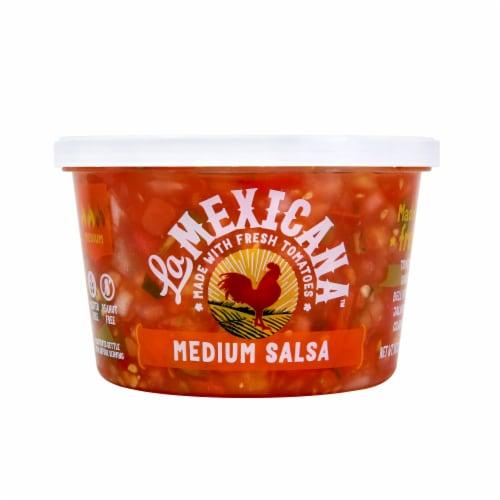 La Mexicana Medium Salsa Perspective: front