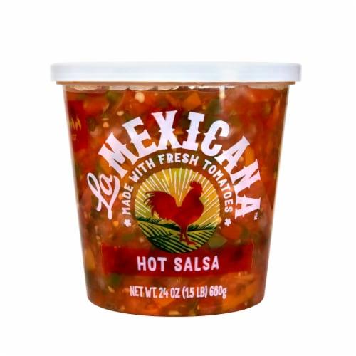 La Mexicana Hot Salsa Perspective: front