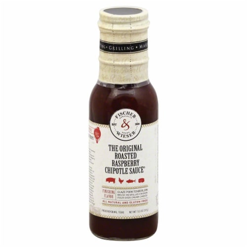 Fischer & Wieser The Original Roasted Raspberry Chipotle Sauce Perspective: front