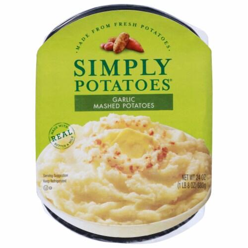 Simply Potatoes® Garlic Mashed Potatoes Perspective: front