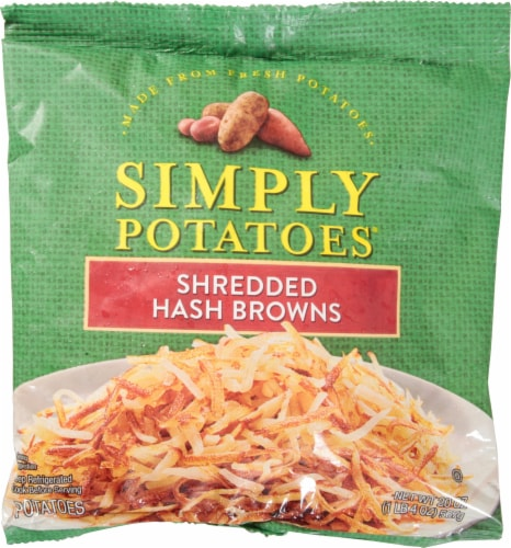 Simply Potatoes Shredded Hash Browns Perspective: front