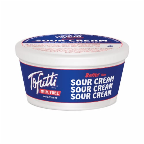 Tofutti Better Than Sour Cream Perspective: front