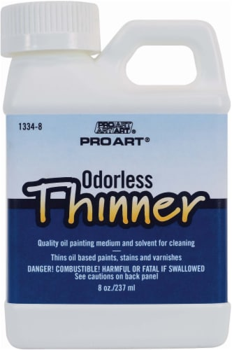 Pro Art Odorless Thinner Perspective: front