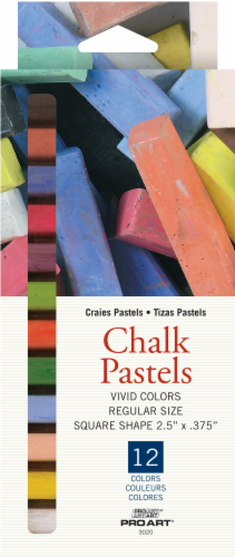 Pro Art Chalk Pastels - Multi-Color Perspective: front