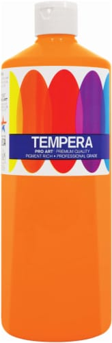 Pro Art Liquid Tempera Paint - Orange Perspective: front