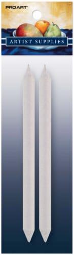 Pro Art Paper Blending Stump - 2 Pack - Gray Perspective: front