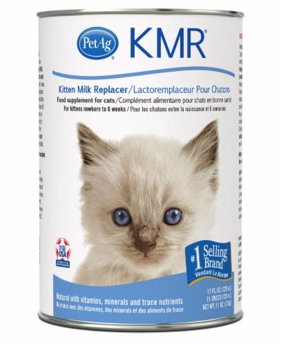 KMR Kitten Milk Replacer Liquid Food Supplement Perspective: front