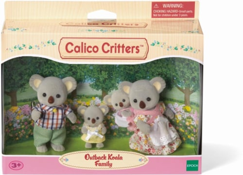Calico Critters Outback Koala Family Perspective: front
