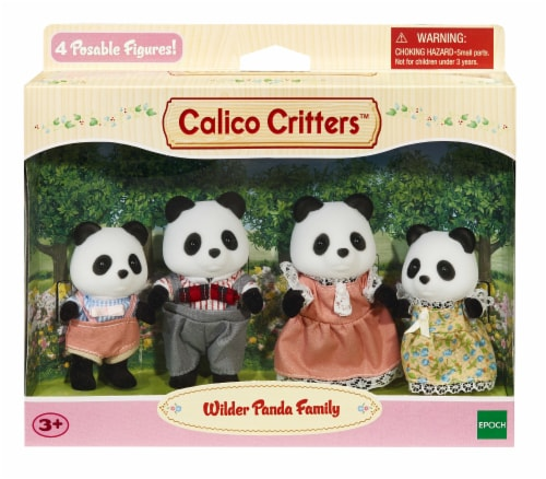 Calico Critters Wilder Panda Family Perspective: front