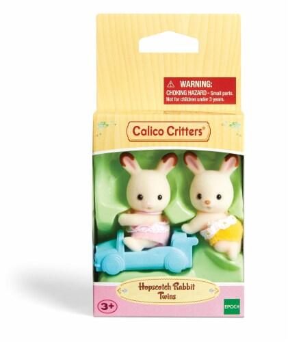 Calico Critters Hopscotch Rabbit Twins - 2 Piece Perspective: front