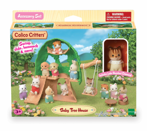 Calico Critters Baby Treehouse Play Set Perspective: front