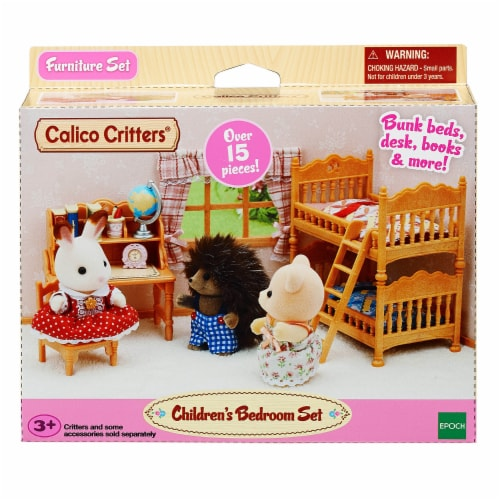 Calico Critters Children's Bedroom Set Perspective: front