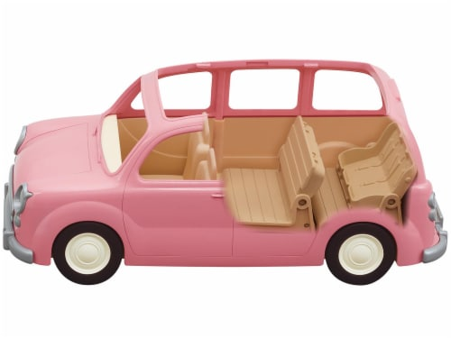 Calico Critters Family Picnic Van Perspective: front
