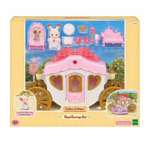 Calico Critters Royal Carriage Set Perspective: front