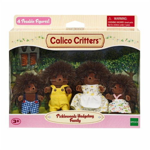 Calico Critters Pickleweeds Hedgehog Family Perspective: front