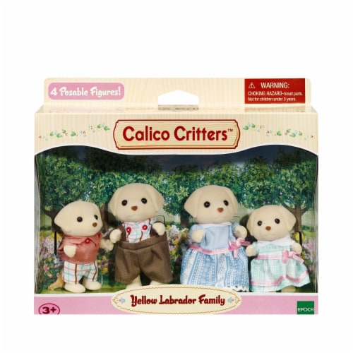 Calico Critters Yellow Lab Family Perspective: front
