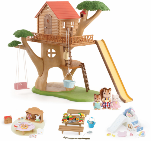 Calico Critters Adventure Treehouse Gift Set Perspective: front