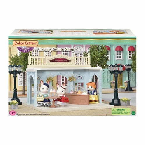 Calico Critters Creamy Gelato Shop Set Perspective: front