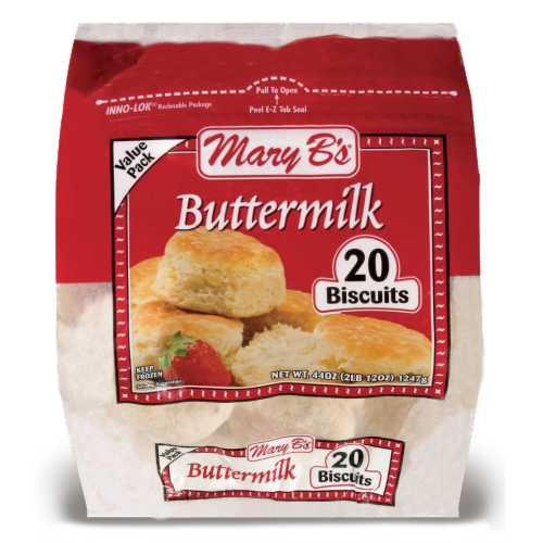 Mary B's Buttermilk Biscuits Perspective: front