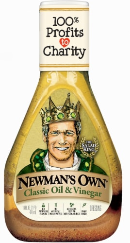 Newman's Own Classic Oil & Vinegar Salad Dressing Perspective: front