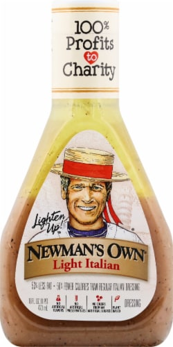 Newman's Own Lite Italian Dressing Perspective: front