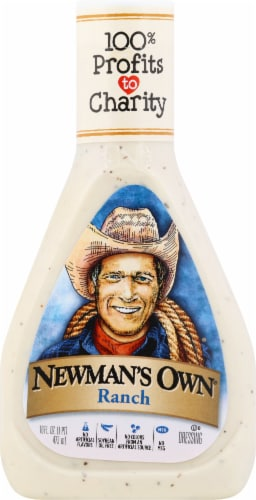 Newman's Own Ranch Dressing Perspective: front