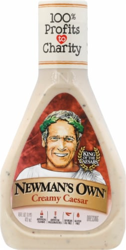 Newman's Own Creamy Caesar Dressing Perspective: front