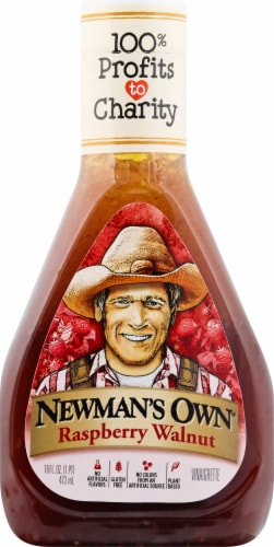 Newman's Own Raspberry Walnut Dressing Perspective: front