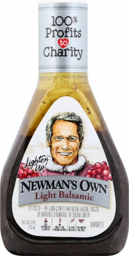 Newman's Own Lite Balsamic Dressing Perspective: front