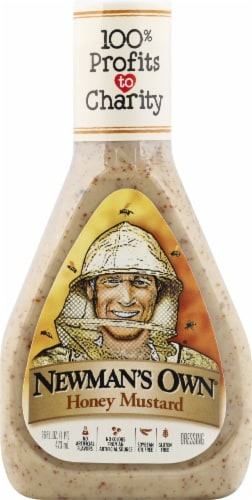 Newman's Own Honey Mustard Dressing Perspective: front