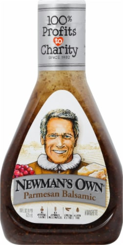 Newman's Own Parmesan Balsamic Dressing Perspective: front