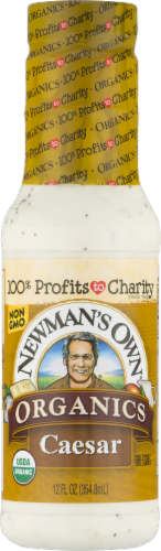 Newman's Own Organics Caesar Dressing Perspective: front
