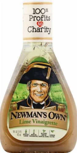 Newman's Own Lime Vinaigrette Dressing Perspective: front