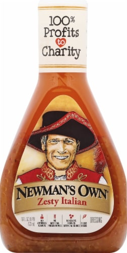 Newman's Own Zesty Italian Dressing Perspective: front