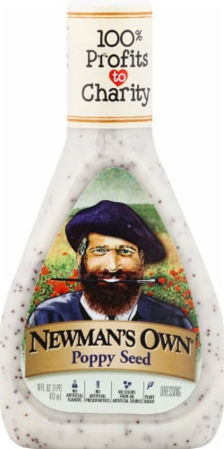 Newman's Own Poppy Seed Dressing Perspective: front