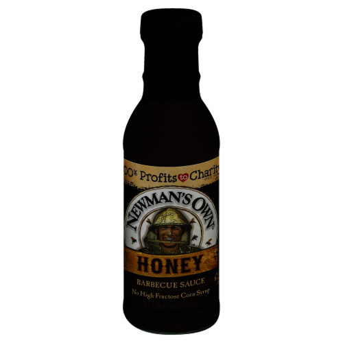 Newman's Own Honey Barbecue Sauce Perspective: front