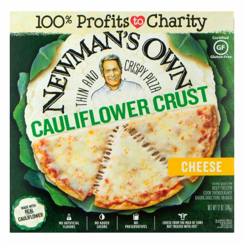 Newman's Own Cauliflower Crust Cheese Pizza Perspective: front