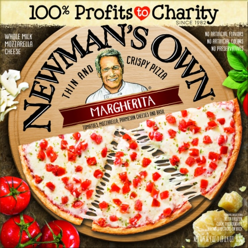 Newman's Own Thin and Crispy Margherita Pizza Perspective: front