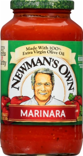 Newman's Own Marinara Pasta Sauce Perspective: front