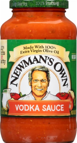 Newman's Own Vodka Pasta Sauce Perspective: front