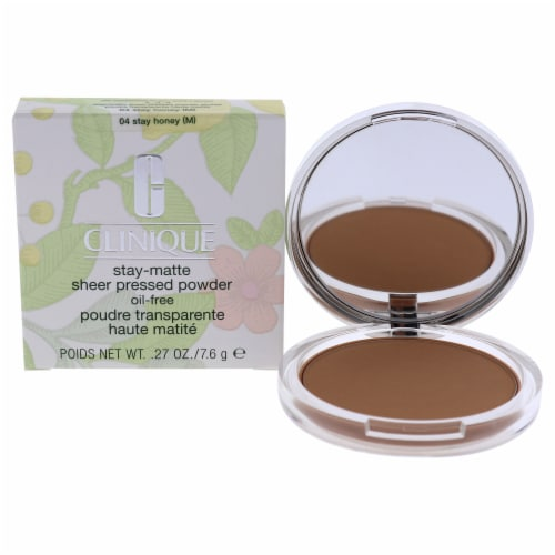 Stay-Matte Sheer Pressed Powder - # 04 Stay Honey M - Dry Combination To Oily Perspective: front