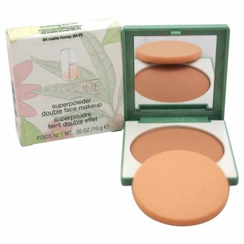 Superpowder Double Face Makeup - # 04 Matte Honey (M-P)-Dry Combination Perspective: front