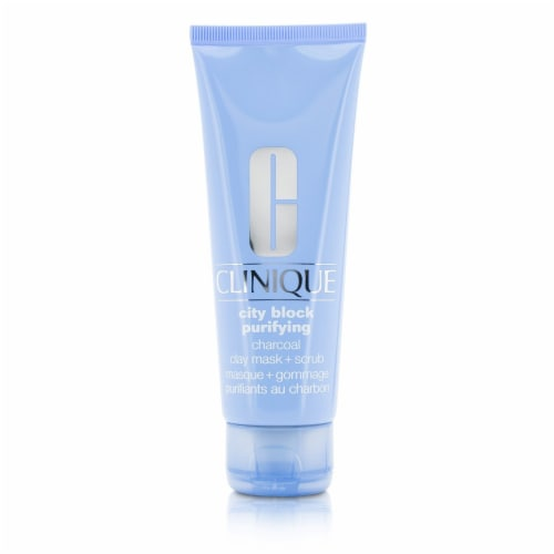 Clinique City Block Purifying Charcoal Clay Mask + Scrub 100ml/3.4oz Perspective: front